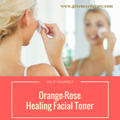 DIY Orange-Rose Healing Facial Toner
