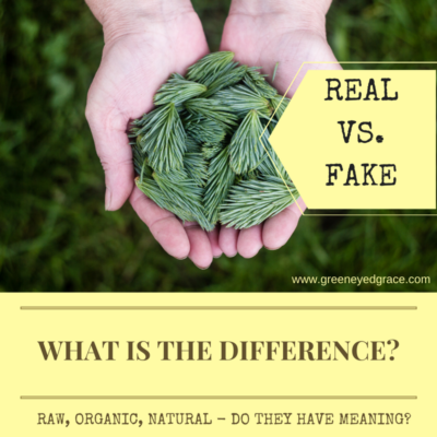 Real vs. Fake ~ What is the Difference?