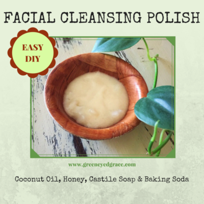 Easy DIY Face Cleansing Polish