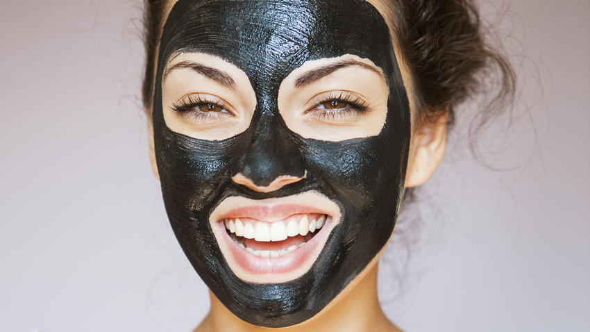 diy activated charcoal mask green eyed grace. Black Bedroom Furniture Sets. Home Design Ideas