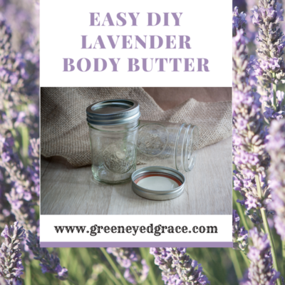 Simple DIY Lavender Body Butter