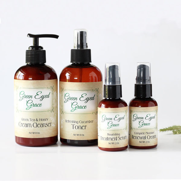 Dry or Combination Skin Care Package - Green Eyed Grace