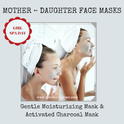 Moisturizing Face Mask and Activated Charcoal Mask recipes